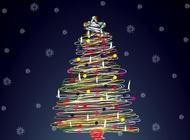 Holiday Tree vector free