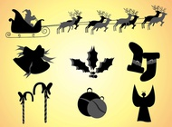 Christmas Clipart vector free