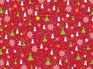 Christmas Paper Pattern vector free