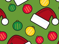 Christmas Pattern vector free
