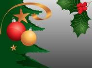 Christmas Plants vector free