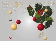Christmas Decorations Vectors free