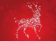 Stars Deer vector free