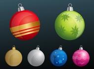 Tree Ornaments vector free