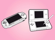 Gaming Consoles vector free